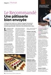 reportage le recommande toque magazine septembre 2014