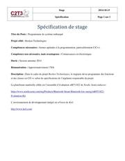 Fichier PDF stage en programmation embarquee