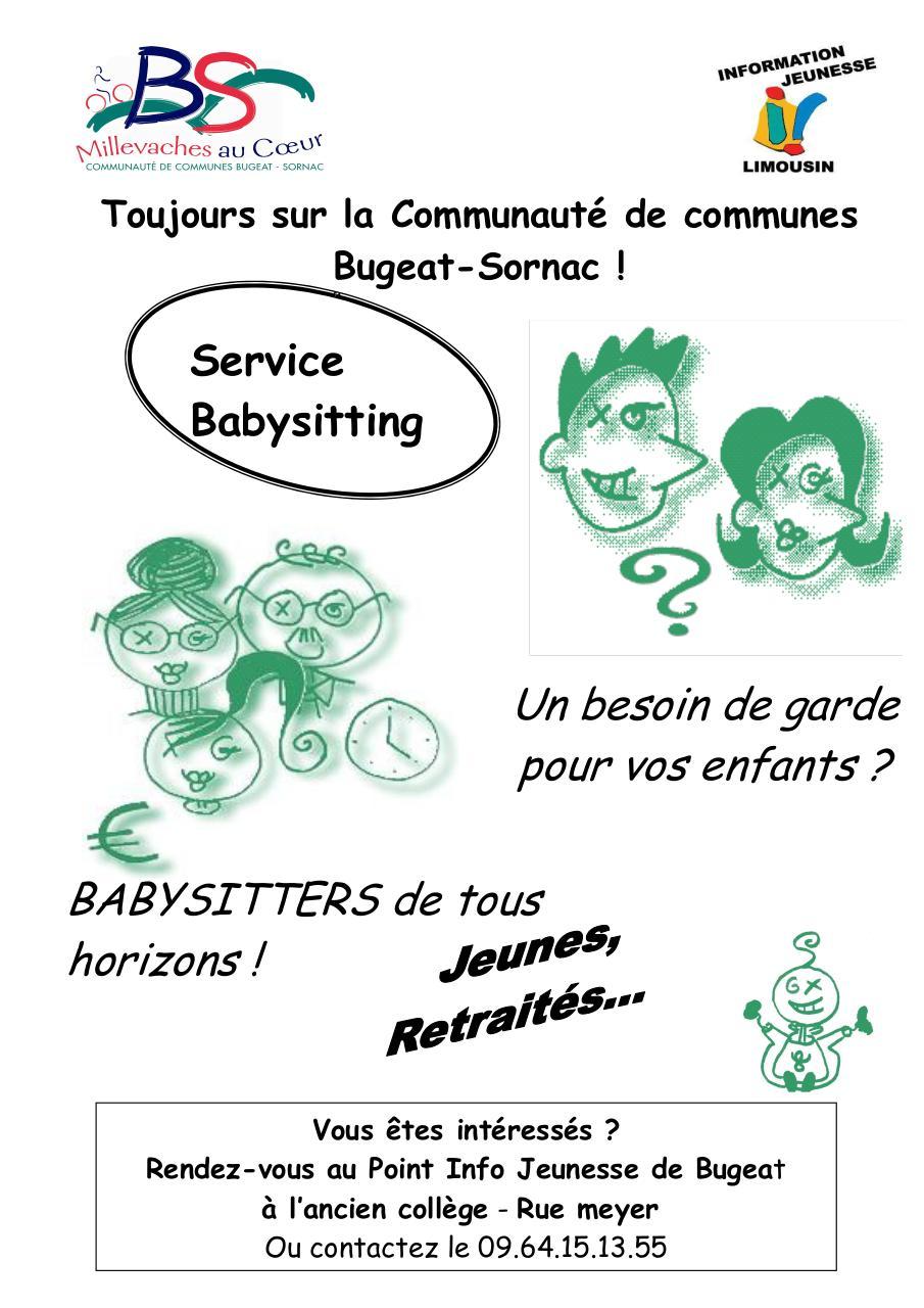 affiche A4 baby sitting par (Propri\351taire) - Fichier PDF
