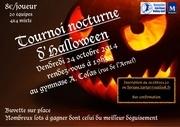 affiche tournoi halloween