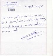 courrier du 25 09 2014 du dr camelleri inaptitude
