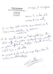 courrier du 25 09 2014 du dr camelleri pour la cra