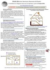 information sur les daaf landerneau