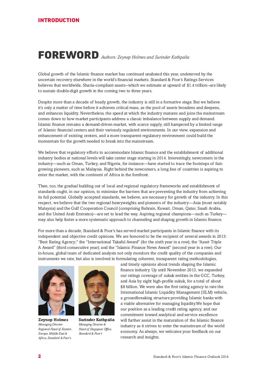 Islamic Finance Outlook_2014.pdf - page 4/88