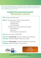 programme gestion des ressources humaines