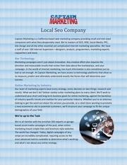 Fichier PDF local seo company
