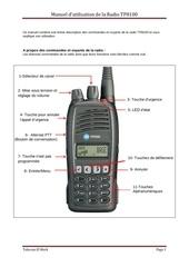 manuel d utilisation de la radio tp8100