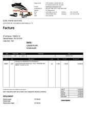 facture cosider tp