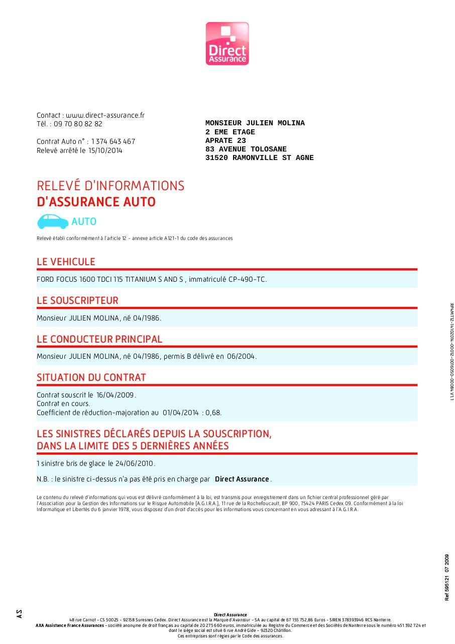 votre assurance auto fichier pdf. Black Bedroom Furniture Sets. Home Design Ideas