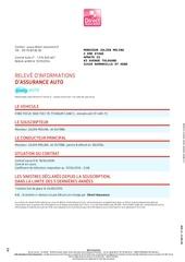 Fichier PDF votre assurance auto
