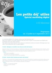 programme ptidej utiles 2013