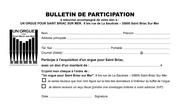 bulletin participation