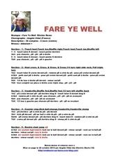 fare ye well 5