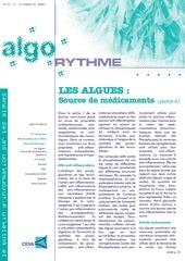 les algues source de medicaments algorythme n 77