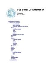 prezi css documentation