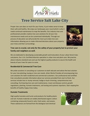 tree service salt lake city