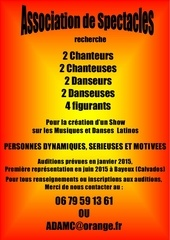 affiche auditions spectacles 2015 def