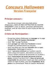 Fichier PDF concours halloween
