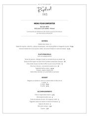 menu emporter web
