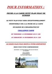 affiche info challenge carpe novembre 2014
