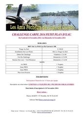 programme reglement challenge carpe novembre 2014