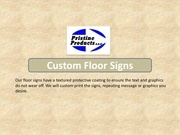 Fichier PDF custom floor signs
