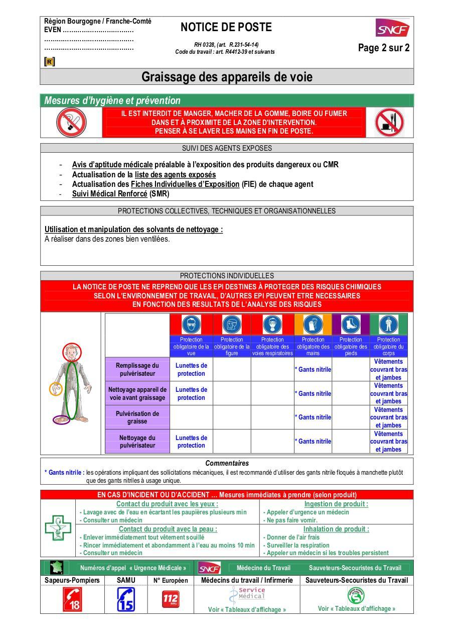 Notice de poste Graisseur par 6214596W - Fichier PDF