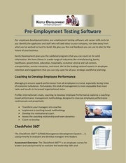 pre employment testing software