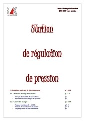 tp station de regulation