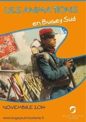 agenda des animations bugey sud novembre 2014