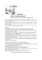 formation creer un cafe