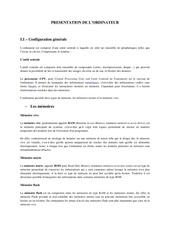 Fichier PDF presentation de l ordinateur