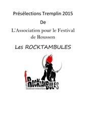 reglement preselections tremplin des rocktambules 2015