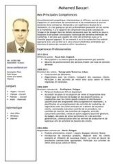 cv baccari francais1