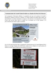 27 10 14 communication chantier pont de la durance