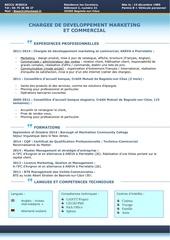 Fichier PDF cv a jour