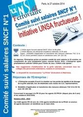 unsa comite de suivi salaires 2014 n1 27 octobre 2014