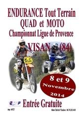 affiche endurance visan 2014 1