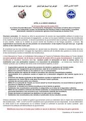 Fichier PDF appel greve generale