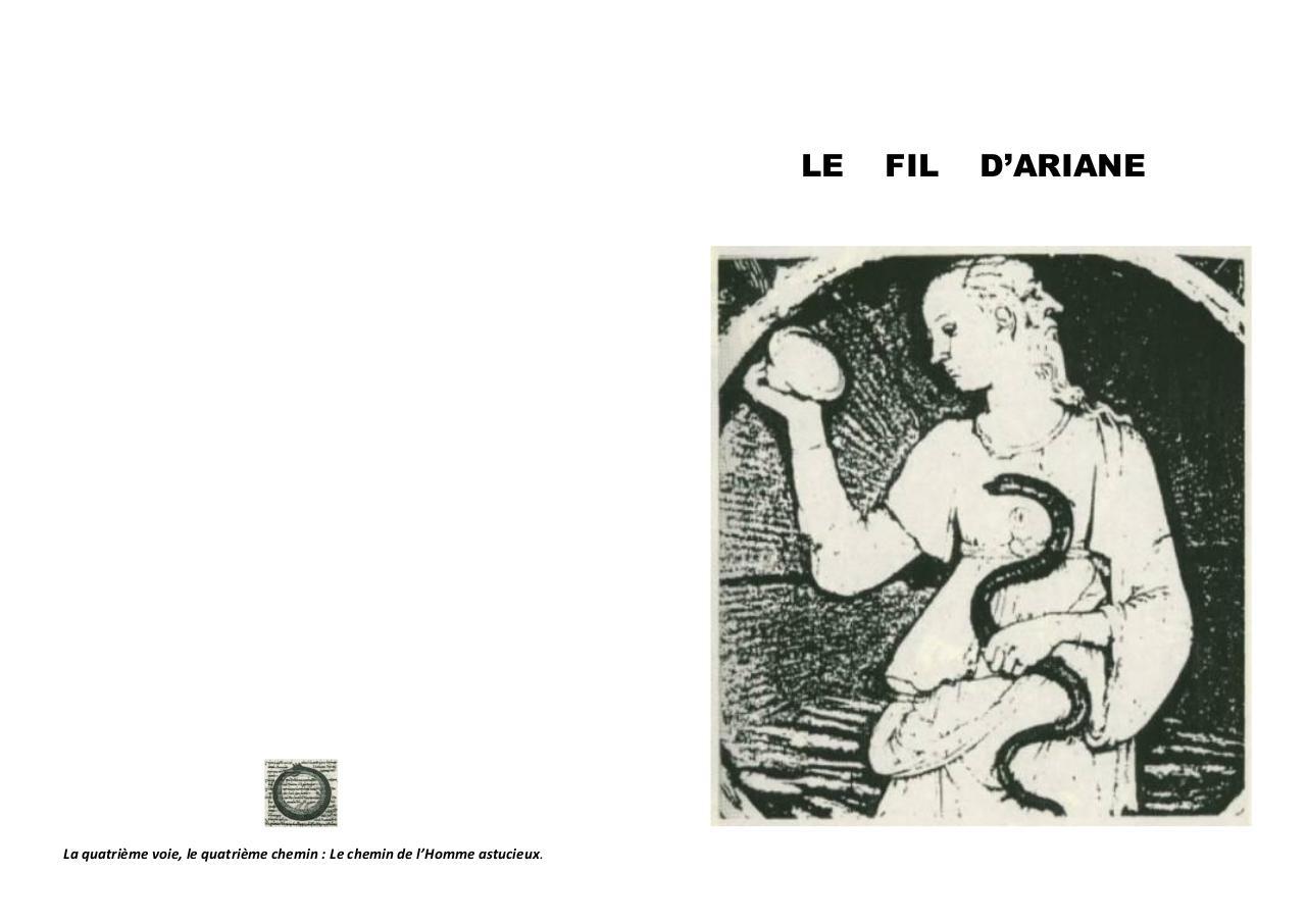 Le Fil Dariane Par Michel Fichier Pdf