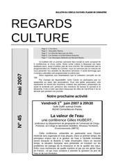regards culture n 45