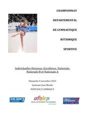 ufolep 77 dossier championnat de partemental individuel les 09 11 2014