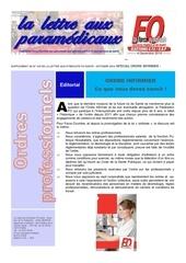 lettre aux paramedicaux special ordre infirmier octobre 2014 1