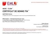 certificat mooc effectuation