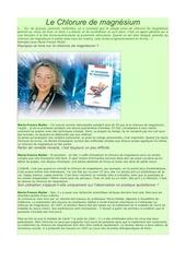 Fichier PDF chlorure de magnesium
