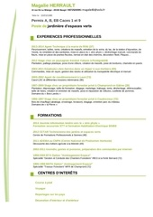 Fichier PDF cv jardiniere paysagiste herrault magalie