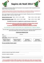 courrier vente de sapins de noel pdf