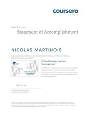 coursera criticalmanagement 2014