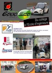 newsletter fevrier 2014