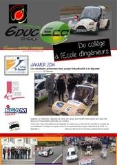 newsletter janvier2014